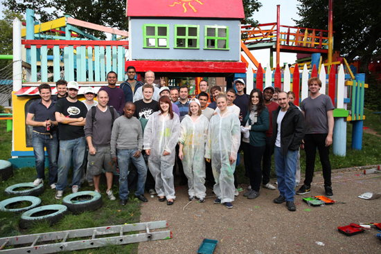 Sommerville Adventure Playground giving back day